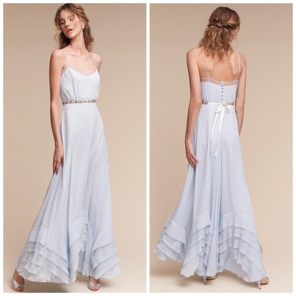 2c13f1b4195 BHLDN ANTHROPOLOGIE WATTERS DOVE BRIDESMAID DRESS